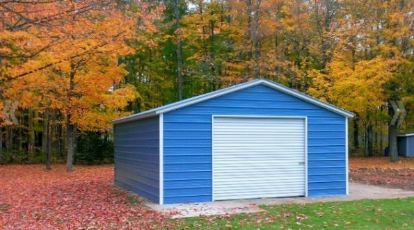 Garage - A-Frame - Horizontal - #5