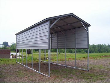 tall RV metal shed